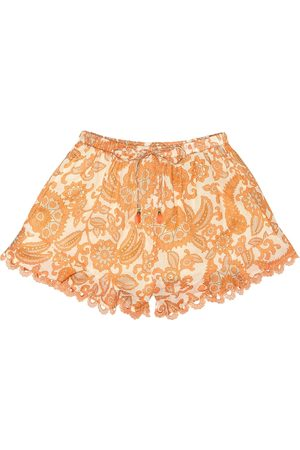ZIMMERMANN Exclusive to Mytheresa – Peggy cotton shorts