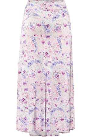 Paco rabanne Exclusive to Mytheresa – Floral stretch-jersey skirt