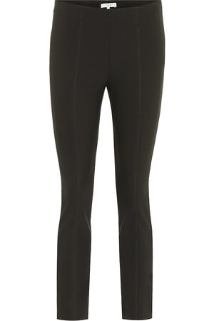 Vince High-rise ponte-jersey skinny pants
