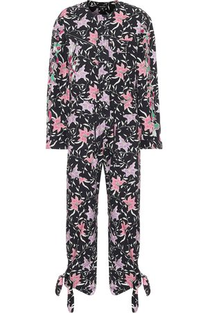 Isabel Marant Gigi printed cotton jumpsuit