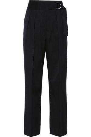 Jil Sander High-rise slim wool pants