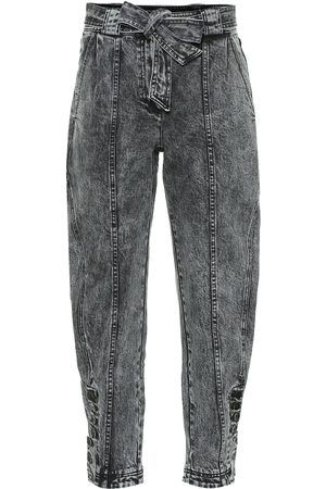 ULLA JOHNSON Carmen high-rise tapered jeans