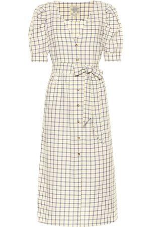 Baum und Pferdgarten Exclusive to Mytheresa – Alma checked cotton midi dress