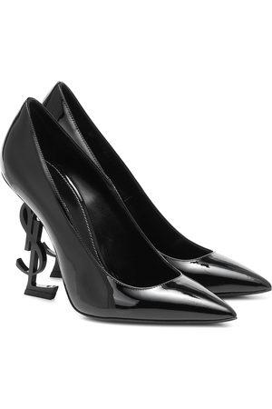Saint Laurent Opyum 110 patent-leather pumps