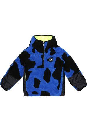 Marcelo Burlon Kids of Milan Printed fleece jacket