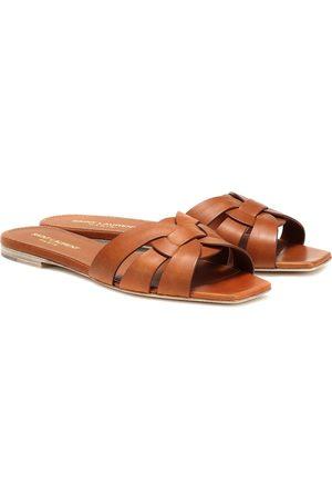Saint Laurent Tribute Nu Pieds 05 leather sandals