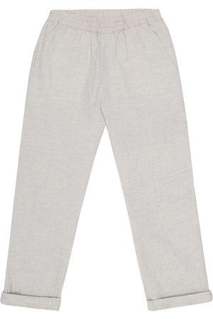 BONPOINT Nino cotton-blend chambray pants