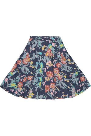 BONPOINT Lise printed cotton skirt