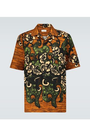 DRIES VAN NOTEN Floral printed shirt