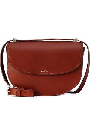 A.P.C Genève leather shoulder bag