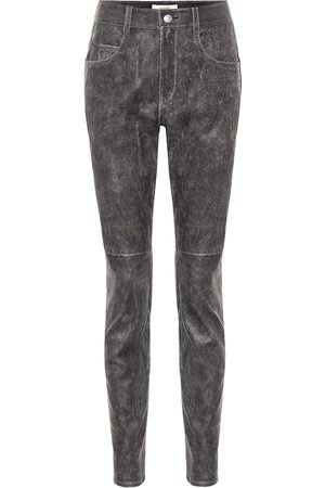 Isabel Marant Taro high-rise skinny leather pants
