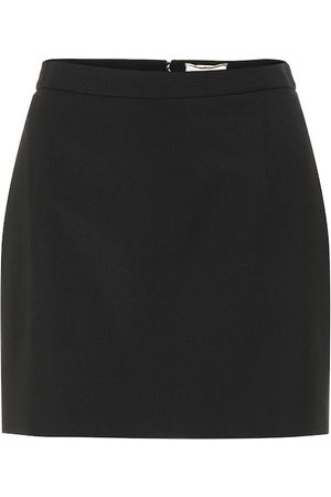 Saint Laurent Wool miniskirt