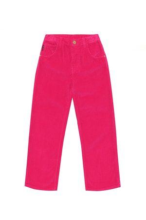 VERSACE Corduroy straight pants