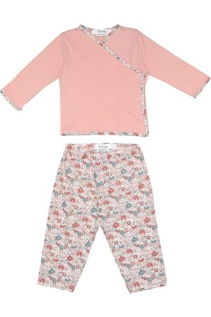 BONPOINT X Liberty Baby floral cotton top and pants set