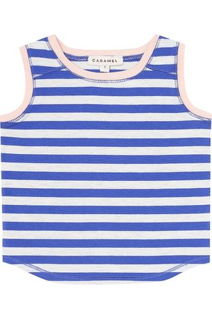 Caramel Baby Aldwych stretch-cotton tank top