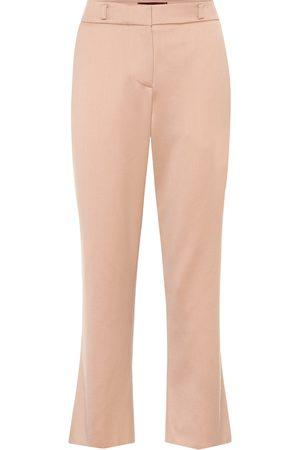 Sies marjan Nastya mid-rise straight wool pants