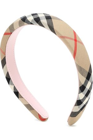 Burberry Vintage Check canvas headband
