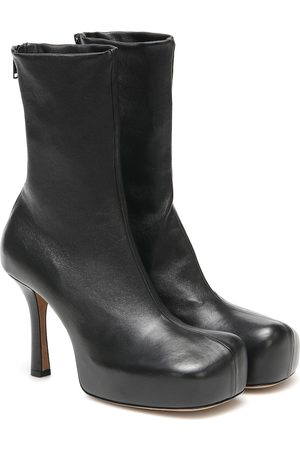 Bottega Veneta BV Bold leather ankle boots