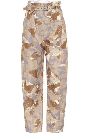 Isabel Marant Exclusive to Mytheresa – Iona high-rise cotton-blend pants