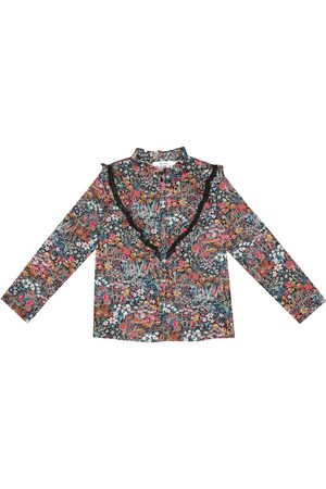 BONPOINT Pamela floral cotton blouse