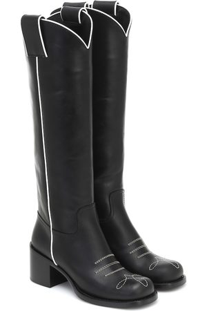 Miu Miu Western knee-high boots