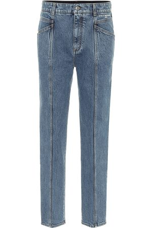 Stella McCartney High-rise stretch-denim slim jeans