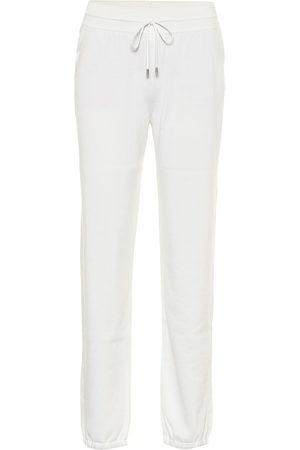 Loro Piana Quiberon silk and cotton trackpants