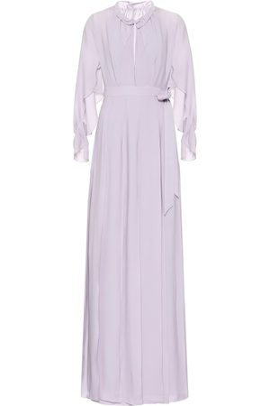 Roland Mouret Evora silk-georgette maxi dress