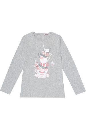 Il gufo Printed cotton-jersey T-shirt