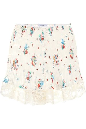 Paco rabanne High-rise floral skirt