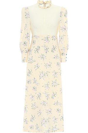 Miu Miu Floral midi dress