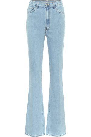 J Brand Runway high-rise flared jeans