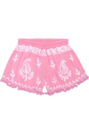 Melissa Odabash Sienna embroidered shorts