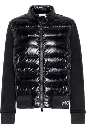 Moncler Cotton-jersey down jacket