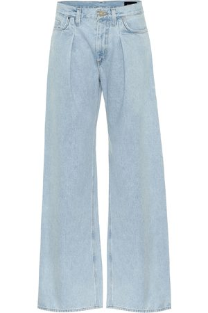 Goldsign The Wide Leg mid-rise jeans