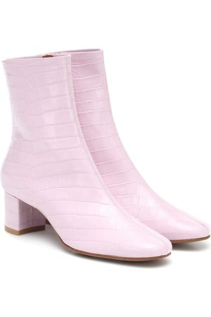 By Far Sophia leather ankle boots