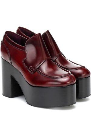 DRIES VAN NOTEN Platform leather loafers
