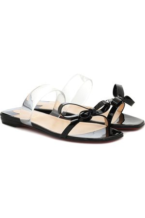 Christian Louboutin Just Nodo patent-leather sandals