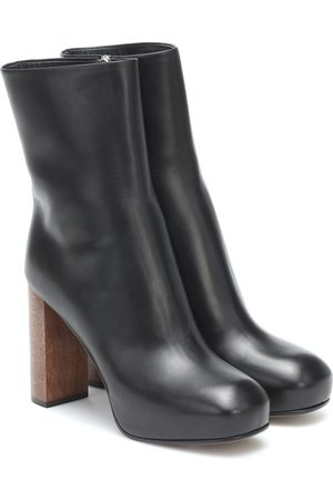 Neous Sarin leather platform boots