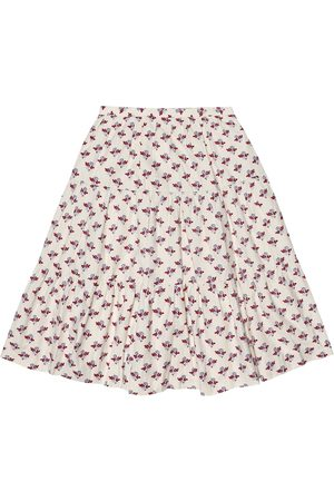 BONPOINT Lise floral cotton skirt