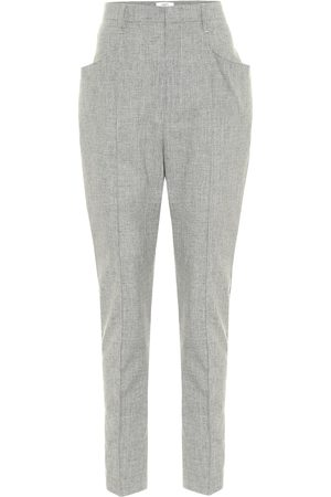 Isabel Marant Loreia slim wool-blend pants