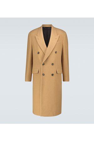 Fendi Double-breasted wool coat