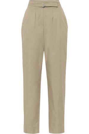 A.P.C Sarah cotton-blend gabardine pants