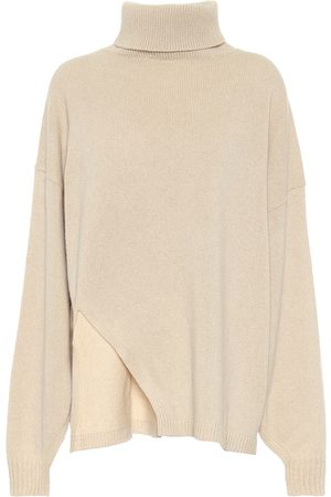 tibi Cashmere-blend turtleneck sweater