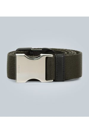 Prada Nylon and leather utility belt