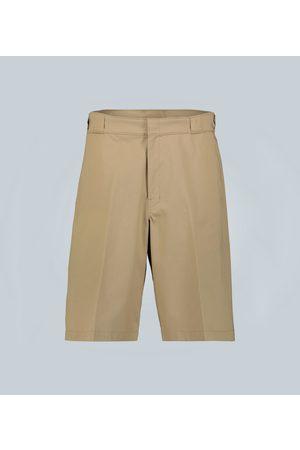 Prada Gabardine knee-length shorts