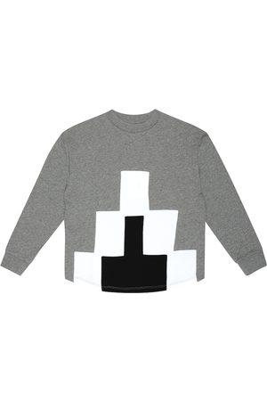 Marcelo Burlon Kids of Milan Big Logo cotton-blend sweater
