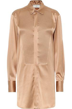 Bottega Veneta Stretch-silk shirt