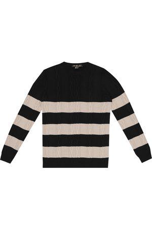 Loro Piana Lighthouse cotton and silk sweater