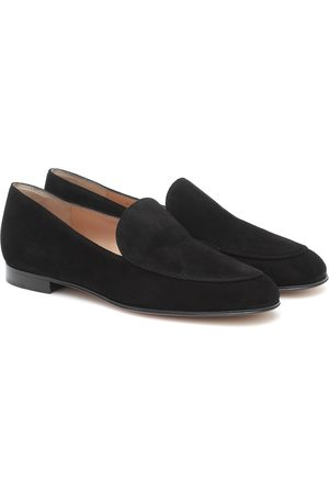 Gianvito Rossi Marcel suede loafers